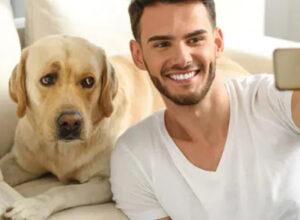 ¿Cómo hacerte una selfie perfecta con tu mascota?